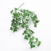 Lierre en chute en plastique QUILL, sur piquet, vert-blanc, 35cm