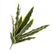 Faux Sansevieria DIDEM, sur piquet, crossdoor, vert-jaune, 50cm