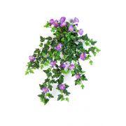 Pétunia artificiel LISSANDRA, piquet, lilas, 55cm, Ø1-4cm
