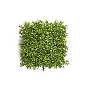 Plaque de buis artificielle TOM, vert, 25x25cm