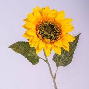 Faux Tournesol SILJA, jaune-orange, 65cm, Ø13cm