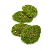 Pièces de mousse artificielles HEFEI, 4 pièces, vert, 11x15x5cm