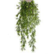 Chute d'asparagus sprengeri artificielle COLE, piquet, 75cm