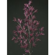 Branche de mélèze artificielle FLEKY, paillettes, violet, 75cm